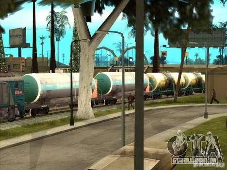Tanque 57929572 # para GTA San Andreas traseira esquerda vista