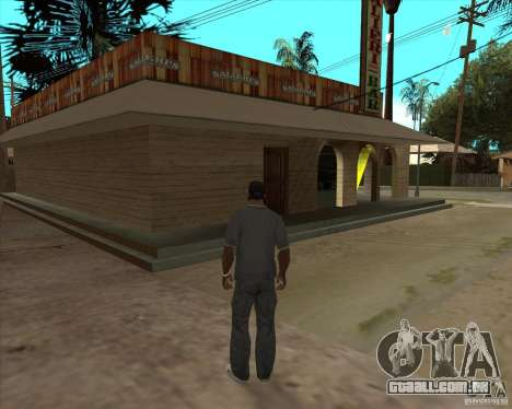 Salierys Bar para GTA San Andreas terceira tela
