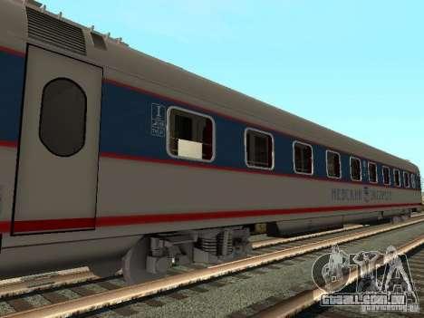 Nevsky express para GTA San Andreas