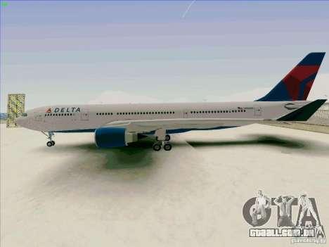 Airbus A330-200 para GTA San Andreas esquerda vista