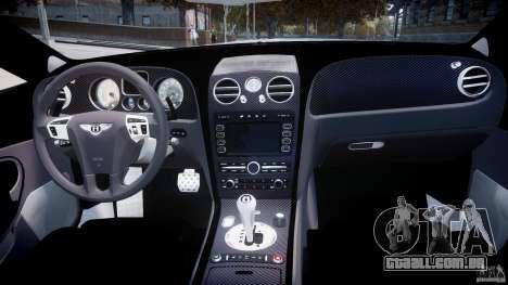 Bentley Continental SS 2010 ASI Gold [EPM] para GTA 4 vista direita