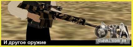 Tiger Weapon Pack para GTA San Andreas terceira tela