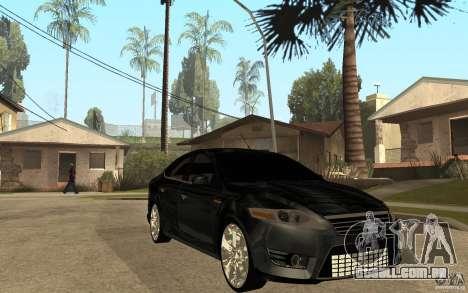 Ford Mondeo 2009 para GTA San Andreas vista traseira