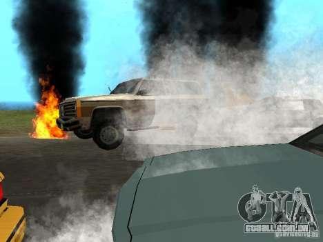 Novos efeitos, fumaça, etc. para GTA San Andreas