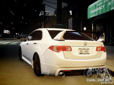 Honda Accord Mugen para GTA 4 vista interior
