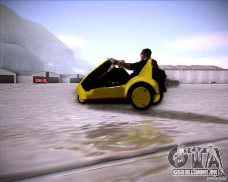 Sinclair C5 para GTA San Andreas