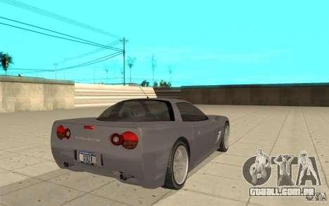 Coquete de GTA 4 para GTA San Andreas traseira esquerda vista