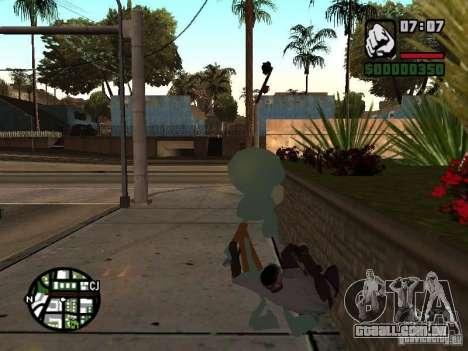 Lula Molusco para GTA San Andreas sexta tela