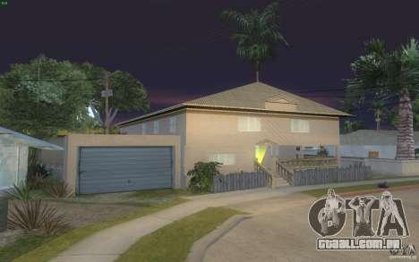 Quatro casas novas na Grove Street para GTA San Andreas terceira tela