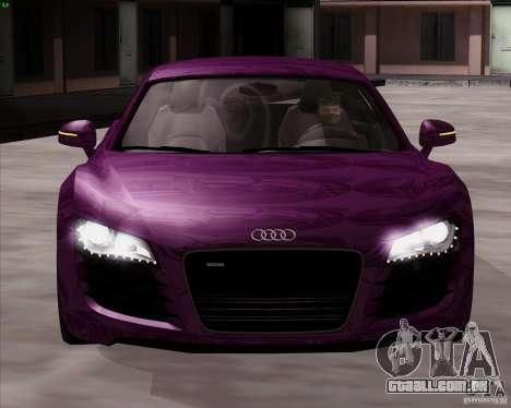 Audi R8 Production para GTA San Andreas vista direita