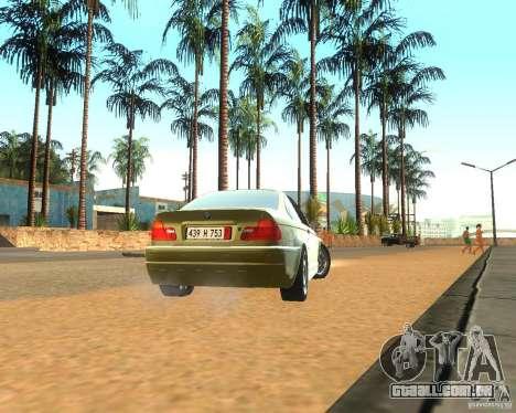 BMW 318i E46 2003 para GTA San Andreas vista direita
