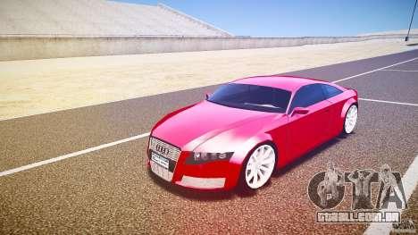 Audi Nuvollari Quattro para GTA 4 esquerda vista