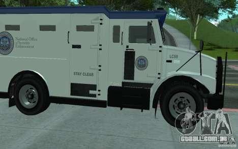 Securicar do GTA IV para vista lateral GTA San Andreas