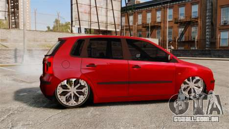 Volkswagen Polo Edit para GTA 4 esquerda vista