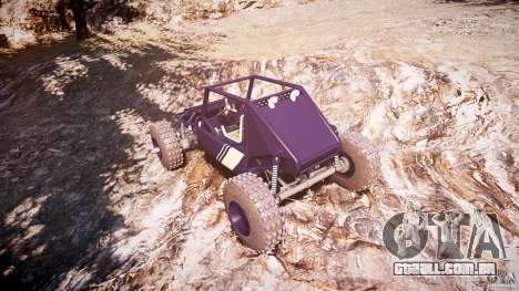 Buggy beta para GTA 4 vista lateral