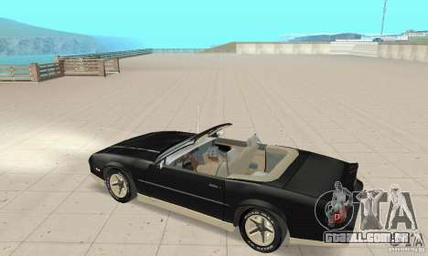 Chevrolet Camaro RS 1991 Convertible para GTA San Andreas
