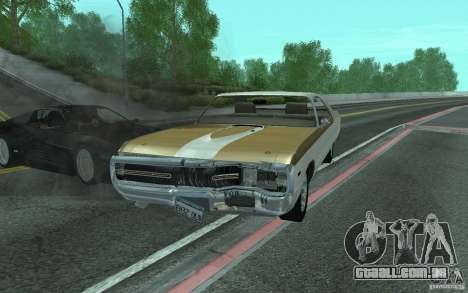 Chrysler 300 Hurst 1970 para vista lateral GTA San Andreas
