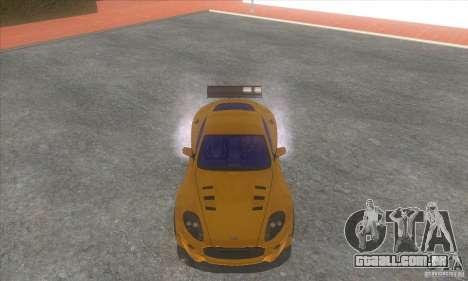 Aston Martin DB9 MW para GTA San Andreas vista traseira