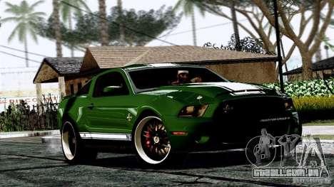 ENB By Wondo para GTA San Andreas por diante tela
