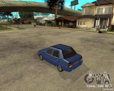 ZAZ 1103 Slavuta para GTA San Andreas esquerda vista