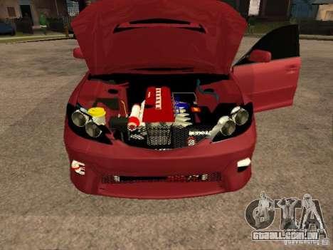 Toyota Camry 2005 TRD para GTA San Andreas vista traseira