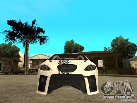 Seat Leon Cupra Bound Dynamic para GTA San Andreas vista direita