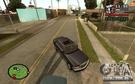 CAMZum beta disponível a partir do GTA 5 para GTA San Andreas terceira tela
