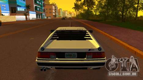BMW M1 (E26) 1979 para GTA Vice City deixou vista