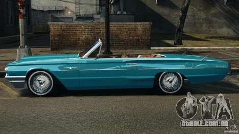 Ford Thunderbird Light Custom 1964-1965 v1.0 para GTA 4 esquerda vista