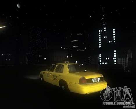 Enbsereis 0.74 Dark para GTA San Andreas por diante tela