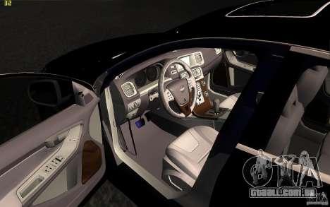 Volvo S60 2011 para vista lateral GTA San Andreas