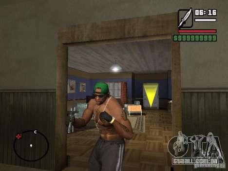 Luvas sem dedos para GTA San Andreas segunda tela