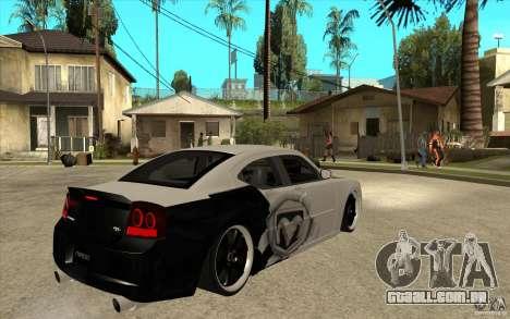Dodge Charger SRT8 Tuning para GTA San Andreas vista direita