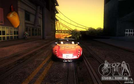 Wiesmann MF3 Roadster para GTA San Andreas vista interior