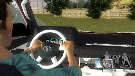Toyota Town Ace-Tuning para GTA Vice City vista traseira esquerda