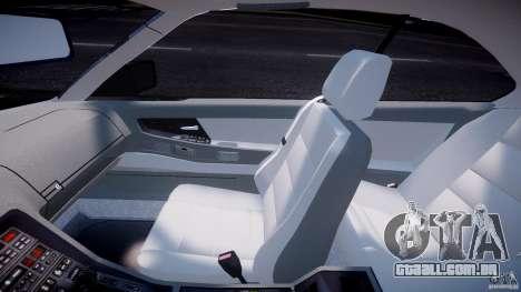 BMW 850i E31 1989-1994 para GTA 4 vista de volta