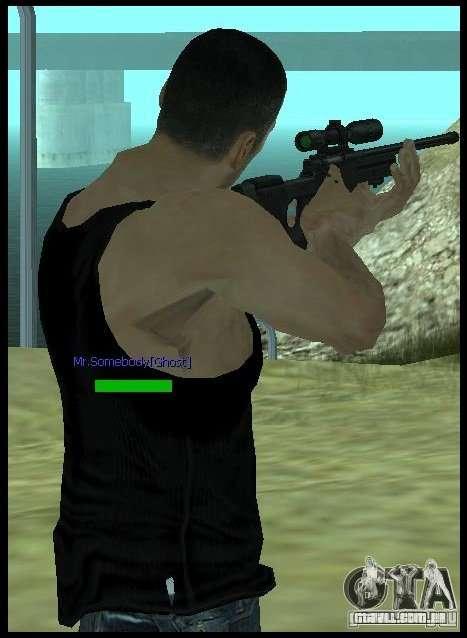 [Point Blank] L115A1 [Black] para GTA San Andreas terceira tela