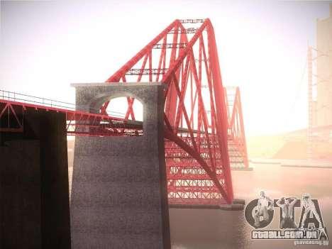 Orange ENB by NF v1 para GTA San Andreas décimo tela