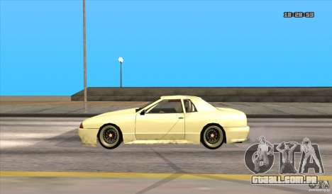 Elegy Drift Style para GTA San Andreas traseira esquerda vista