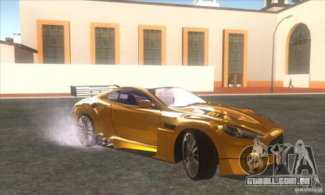 Aston Martin DB9 MW para GTA San Andreas esquerda vista