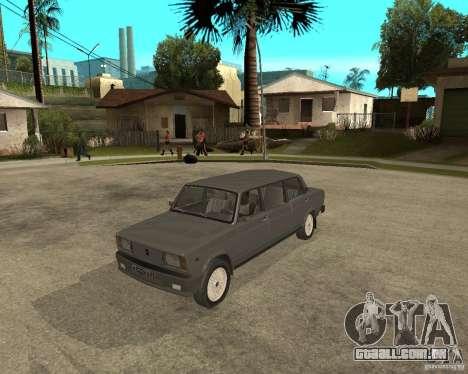 Limousine de 2105 VAZ para GTA San Andreas