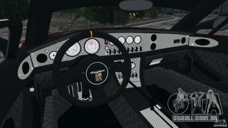 Spyker C8 Laviolette LM85 para GTA 4 vista de volta