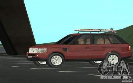 Land Rover Range Rover 2007 para GTA San Andreas