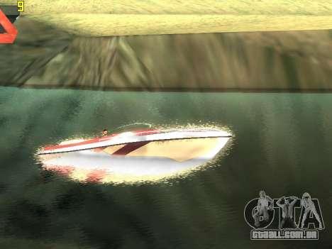 ENBSeries v3 para GTA San Andreas por diante tela