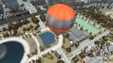 Balloon Tours option 4 para GTA 4 traseira esquerda vista