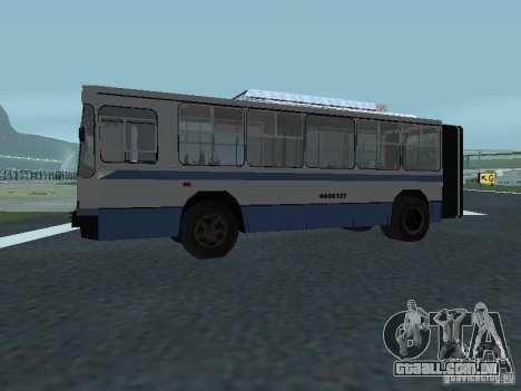 YUMZ T1 para GTA San Andreas vista direita