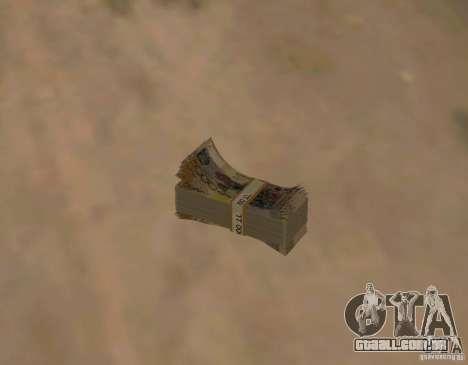 Dinheiro cazaque para GTA San Andreas