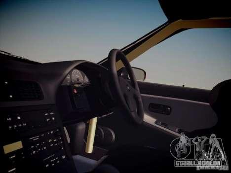 Nissan Silvia S13 Daijiro Yoshihara para GTA San Andreas vista interior