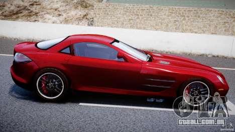 Mercedes-Benz McLaren SLR 722 v2.0 para GTA 4 vista superior
