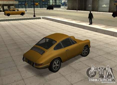 Porsche 911 S para GTA San Andreas esquerda vista